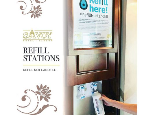 Refill Bottles and Water Refill Station 2