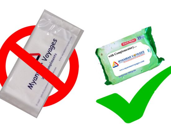 Use one package wet wipe instead of single pack